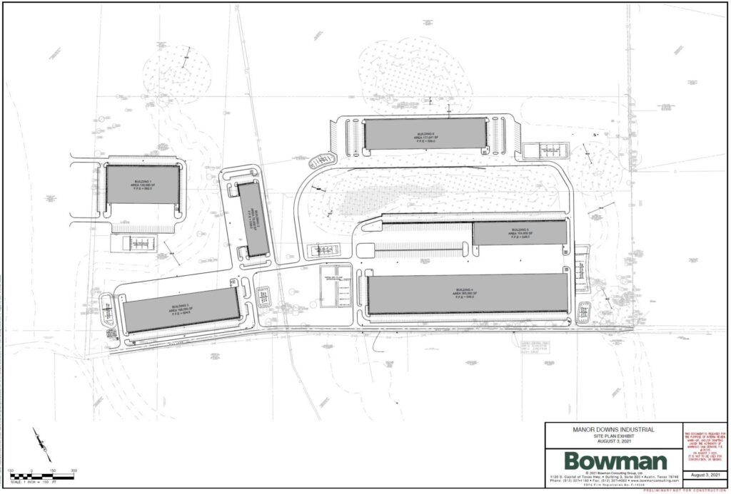 Manor Downs Site Plan